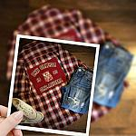 Chi Omega Sorority Red Plaid Flannel